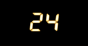 Logo of the American TV series 24.