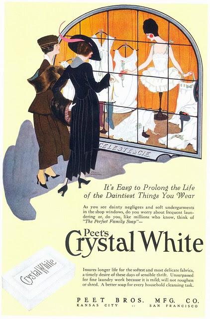 Hazel Woileard, Peet's Crystal White Laundry Soap, 1918