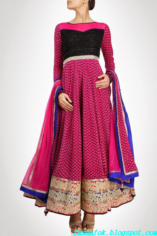 Anarkali-Gorgeous-Bridal- Wedding-Ankle-Length-Dress-by-Designer-Kiran-&-Shruti-Aksh-8