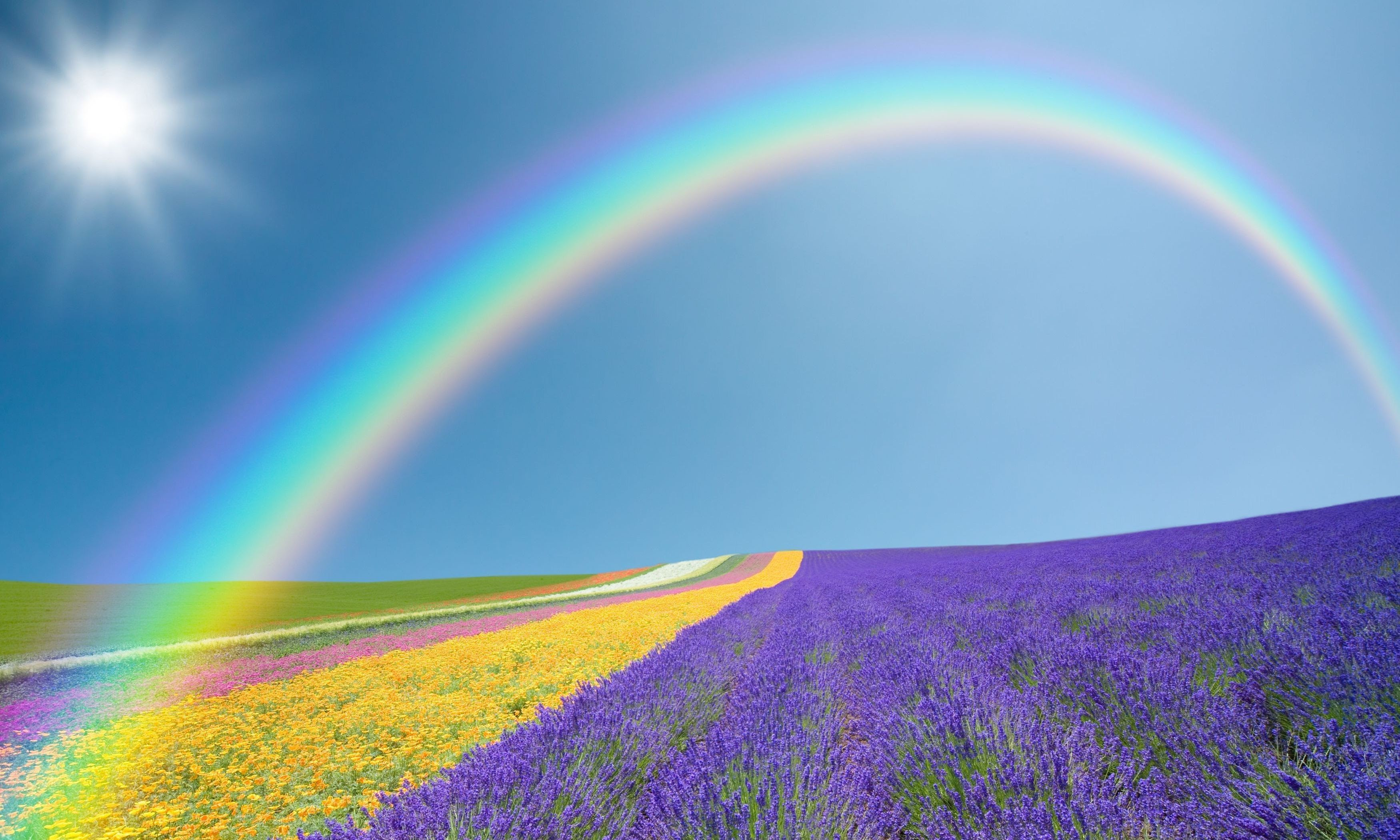 Rainbow Sunshine Wallpapers (63+ images)