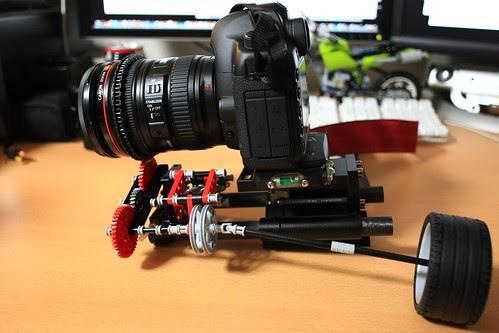 DIY Follow Focus for EOS 5D Mark II