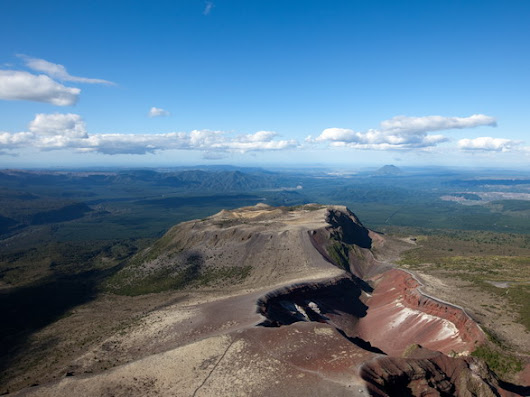 Mount Tarawera (1111 m), North Island, New Zealand