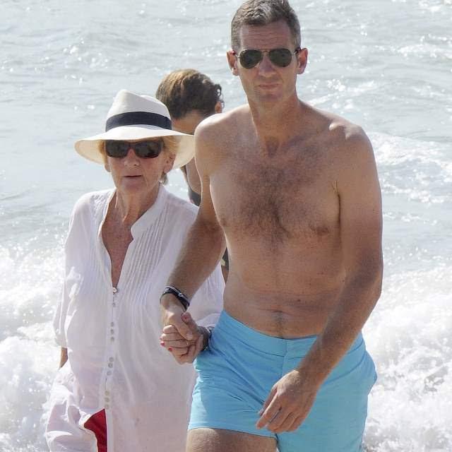 Resultado de imagen de La Infanta y su marido disfrutando de unas vacaciones a solas en la Costa Brava.
