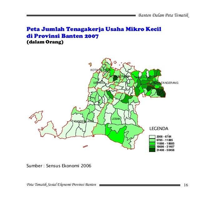 Peta Kabupaten Pandeglang