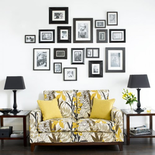 50 Ideas To Decorate Walls With Pictures - Shelterness