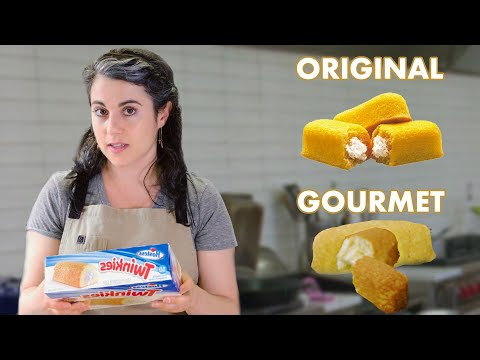 The Evening Post: Pastry Chef Attempts To Make A Gourmet Twinkie