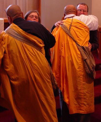 Saffron Hugs at Luke Chadwick's Memorial