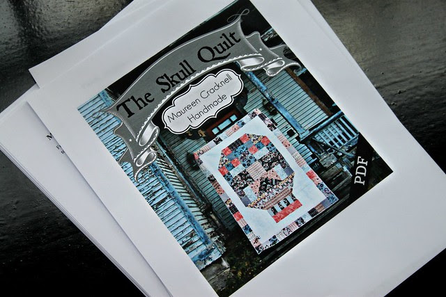 The Skull Quilt Pattern