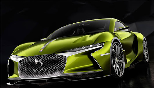 DS E TENSE Electric GT Concept