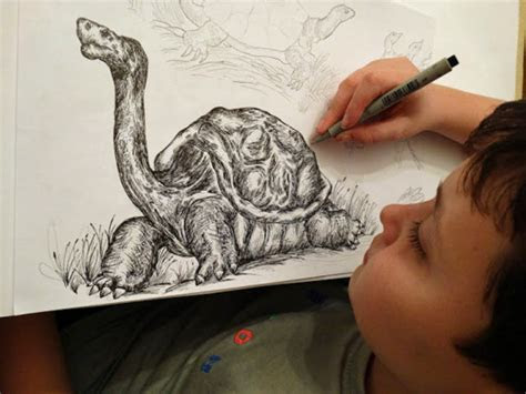 talented  year olds doodles  intricately detailed