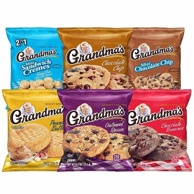 FlashGiveaways Grandma's Cookie Brand 30-pc and Six Flavors Variety Pack