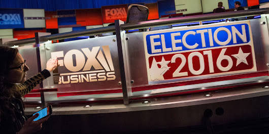 Read Live Updates From The Fox Business Republican Debate