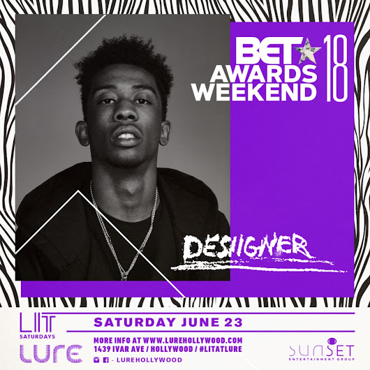 Desiigner | BET Awards Weekend After Party Lure Nightclub
