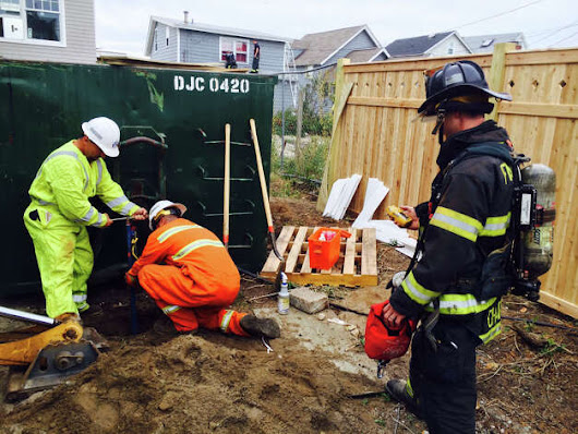 Fairfield Beach homes evacuated after gas line ruptures