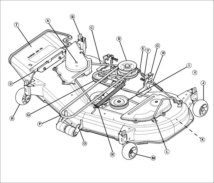 Wiring Database 2020  30 John Deere Lt160 Drive Belt Diagram