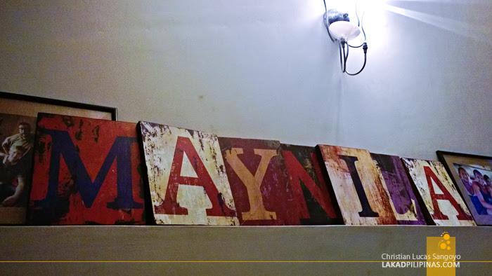 Decors at Manila's Red Carabao Hostel