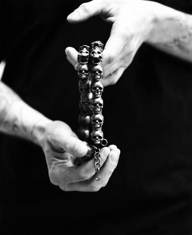 Giorgio Di Salvo Skulls Necklace 05