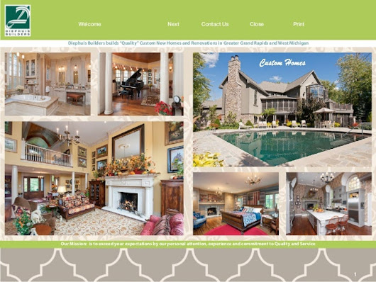 Diephuis Builders Quality Custom Homes West MI eBrochure