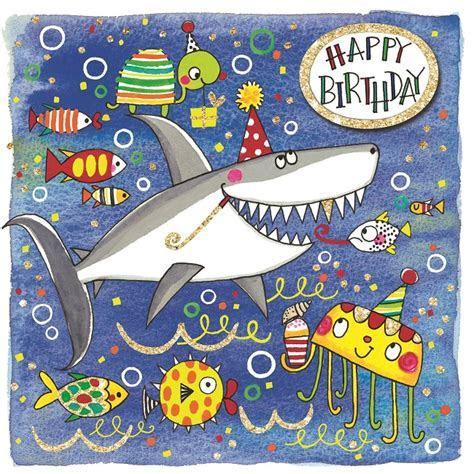 Party Camel   Scribbles   Happy Birthday Shark