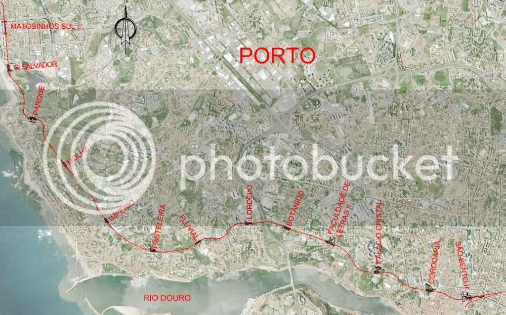 Resultado de imagem para metro porto linha campo alegre álvares