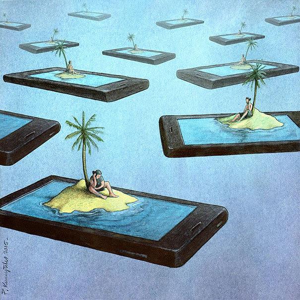 ilustraciones-satiricas-adiccion-tecnologia (8)
