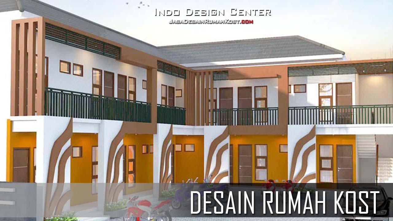 Gambar Rumah  Kos Minimalis 2  Lantai  Desain  Rumah  Minimalis