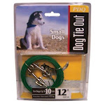 Pdq Q2212-000-99 Puppy Tie Out Cable, 12'
