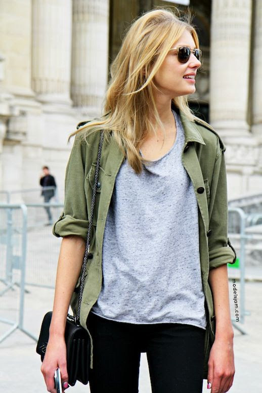 12 Le Fashion Blog 15 Ways To Wear A Green Army Jacket Model Street Style Sigrid Agren Grey Tee Black Jeans Via Models Jam photo 12-Le-Fashion-Blog-15-Ways-To-Wear-A-Green-Army-Jacket-Model-Street-Style-Sigrid-Agren-Grey-Tee-Black-Jeans-Via-Models-Jam.jpg