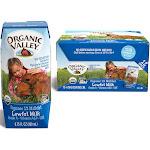 Organic Valley Low Fat Milk - 12 pack, 6.75 fl oz cartons