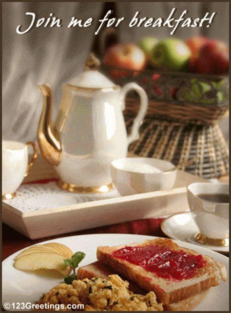 Breakfast Together  Free Business & Formal eCards
