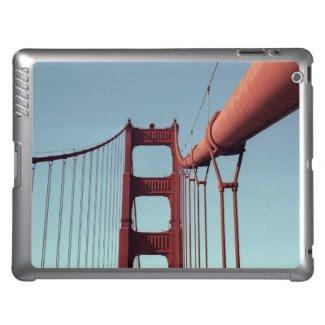 On The Golden Gate Bridge iPad Covers