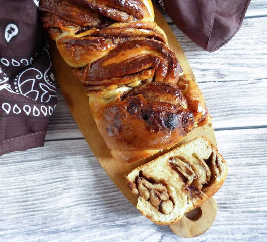 Glorious Nutella Babka from Scratch (with bread machine dough)