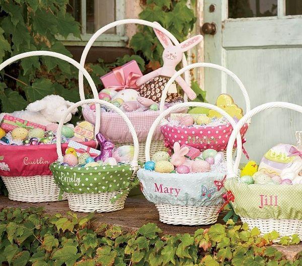 Pottery Barn Easter Baskets