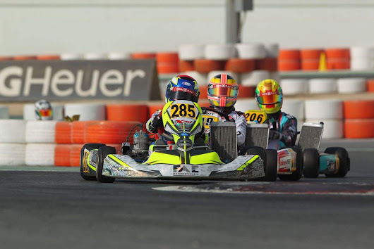 Apart from skill, a go kart racer needs passion and love for the sport