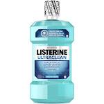 Listerine Ultra Clean Antiseptic Mouthwash, Arctic Mint - 50.7 fl oz bottle