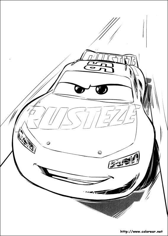 Dibujos Para Colorear De Cars 3
