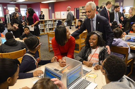 Mayor Rahm decides it's a good time to give himself credit for improving CPS