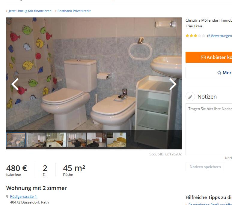 Immobilienscout24: Wohnungsbetrug.blogspot.com: Vorkassebetrüger Im Gehackten