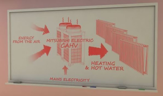 Animation highlights renewable heating potential for commercial buildings | Architecture, Design & Innovation