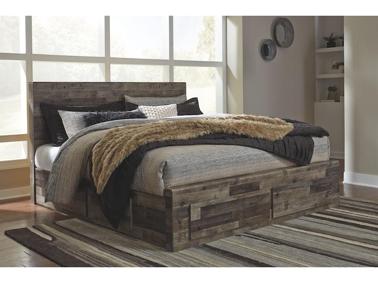 Signature Design By Ashley Bedroom Queenking Under Bed Storage B200