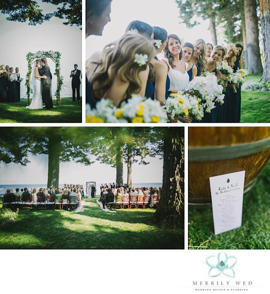 'Texas'-sized Lake Tahoe Wedding | Merrily Wed® Lake Tahoe Weddings