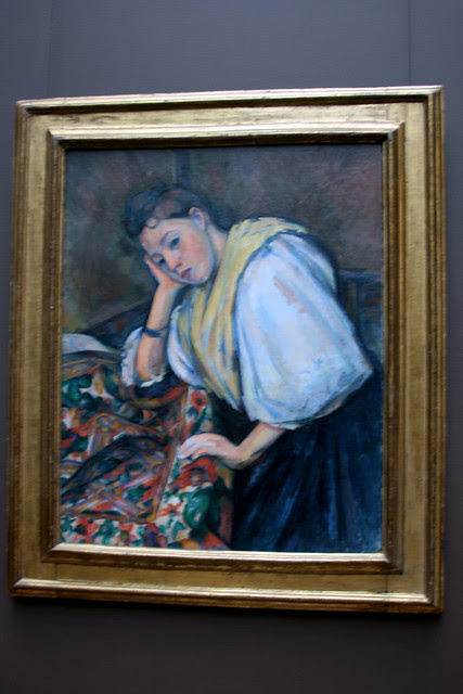 IMG_7010 Paul Cezanne - Young Italian Woman at a Table