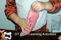 Músculos de la mano - el ejercicio plastilina
