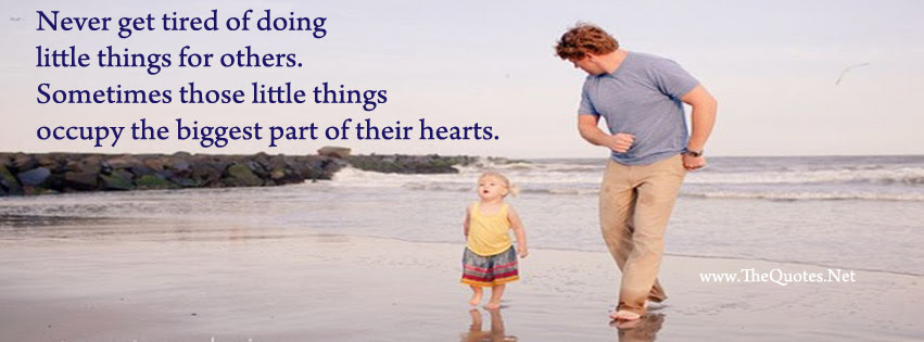Facebook Cover Image Cute Baby And Father Thequotesnet