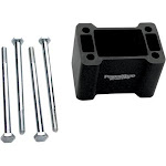 Powermadd Non-Pivot Riser Block 4in. 45517