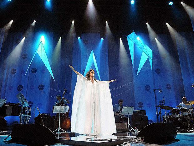 Maria Rita durante show que marca os 30 anos da morte de Elis Regina (Foto: Alexandre Durão/G1)