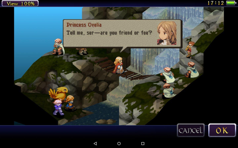 Finalmente! Versão remasterizada de Final Fantasy Tactics chega ao Android