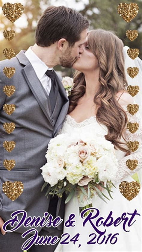 How to Create a Snapchat Geofilter for Your Wedding   This