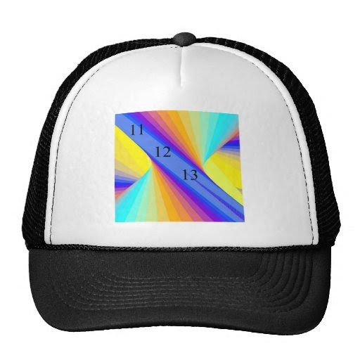 111213 Rainbow Trucker Hat 11_12_13