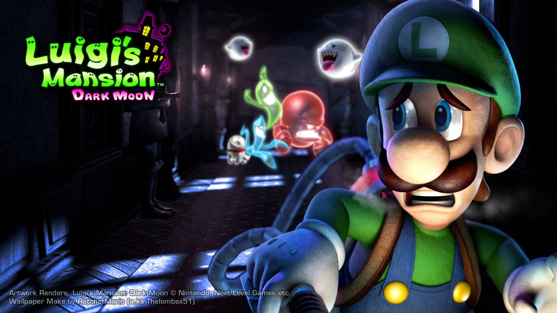 Luigis Mansion Dark Moon Wallpaper 57 Images